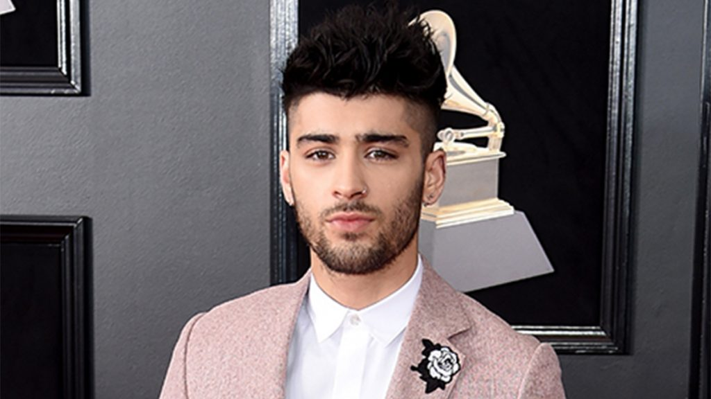 NEW YORK, NY - JANUARY 28: Recording artist Zayn Malik attends the 60th Annual GRAMMY Awards at Madison Square Garden on January 28, 2018 in New York City.